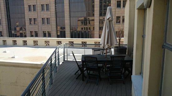 Faircity Mapungubwe Hotel Apartments: Private balcony