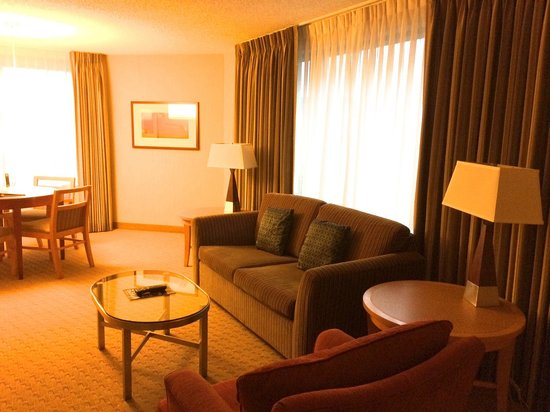 Embassy Suites by Hilton Washington-Convention Center : Living room