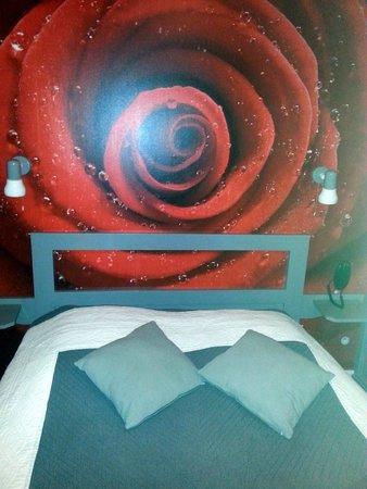 Hotel de la Plage : La chambre
