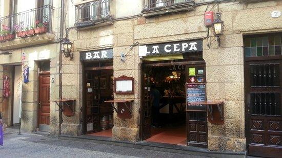 Bar La Cepa: dans la parte vieja de Donostia