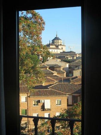Hotel Medina de Toledo: From the window in our room