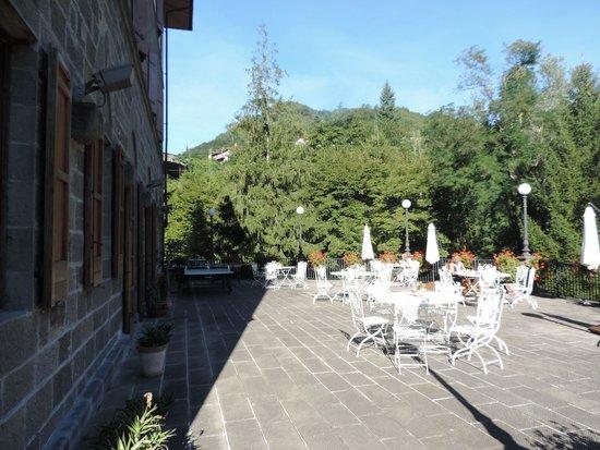 Antica Dimora Villa Basilewsky : Terrasse