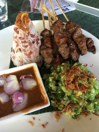 Casa Luna Restaurant: Satay