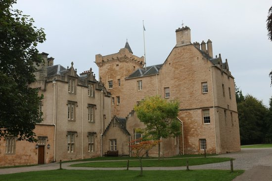 Brodie Castle: Side/back view