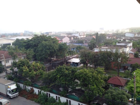 Siam Piman Hotel: View from our room