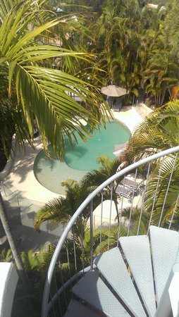 Noosa Tropicana: view from our roof top