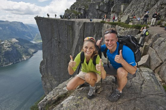 how to get to pulpit rock from bergen