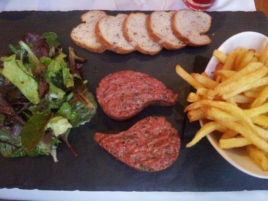La Table du 9: Beef tartar
