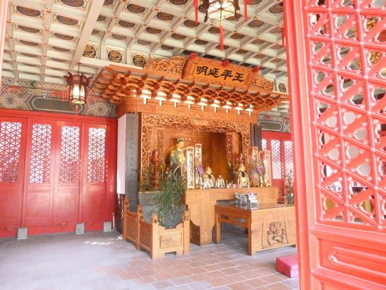 Koxinga Shrine: 内部