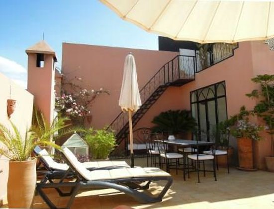 Riad Alboraq sun terrace