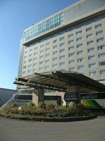 Kitahiroshima Classe Hotel: ホテル正面