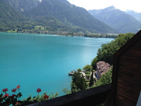 Hotel Brienzersee: View from room