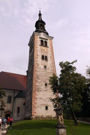 Church of the Assumption: The church tower