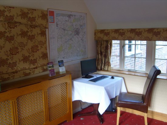 Tourist Information Zone! At Howfield Manor Hotel
