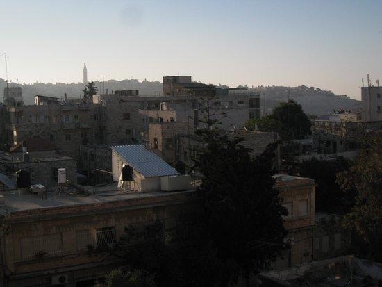 New Victoria Hotel Jerusalem: вид из окна