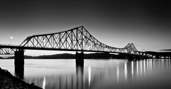 Super 8 Campbellton NB : View from downtown, just minutes from the Super 8