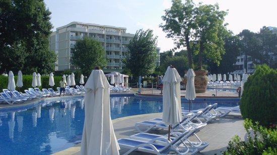 Club Calimera Sunny Beach: Aktivpool + Hotel Zwete