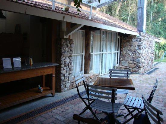 Fazenda Montanhas do Japi : bela casa de pedra