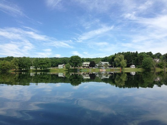 Green Lake Resort & Conference Center: View from across the lake