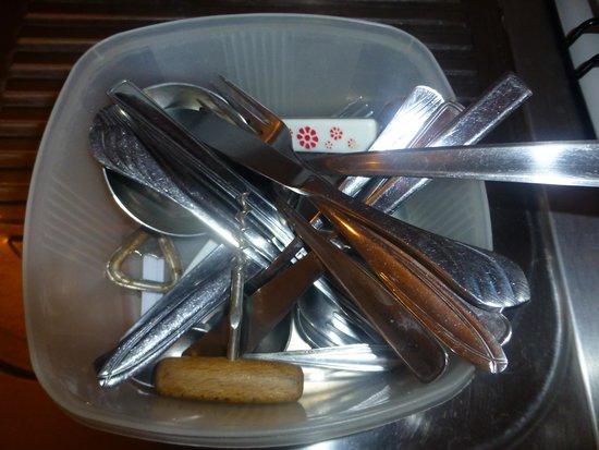 Villa Anka: Cutlery
