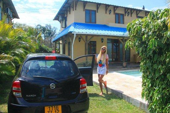 Orchid Villas Mauritius: Вилла с бассейном.