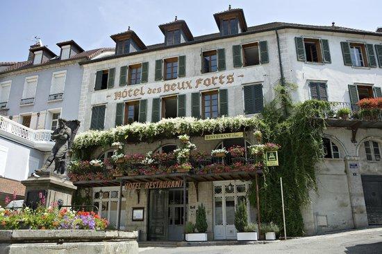 Hotel des deux forts salins les bains frankrijk foto 39 s reviews en prijsvergelijking - Hotel salins les bains ...