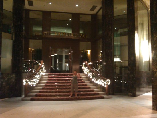 Ascott Raffles Place Singapore: Ascot entrance