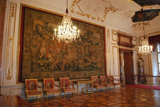Residenzgalerie Salzburg: タペストリーの間