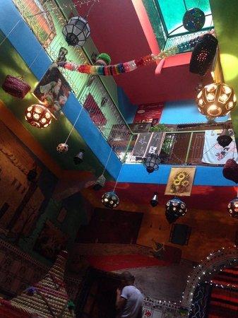 Hostel Waka Waka, Marrakech: A view from below