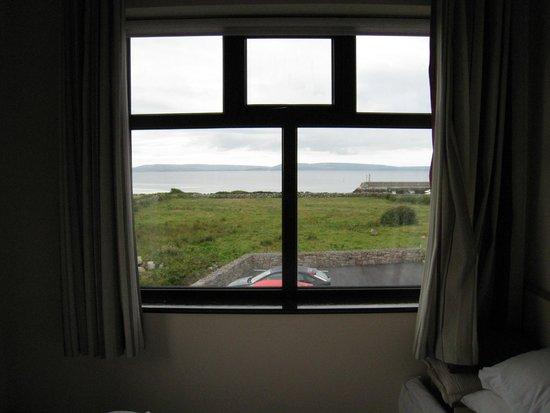Freeport House Bed & Breakfast : unser Zimmer bot eine tolle Aussicht am Morgen