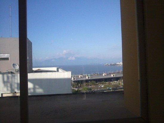 Vista do 12 andar do Hotel Valerim Center
