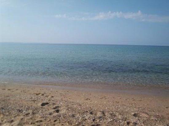 Dionisiou Beach, Grekland: spiaggia Paralia Dionisyou