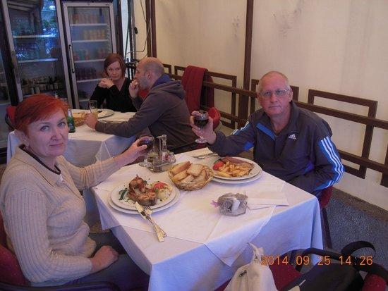 Hotel Pelikan: В ресторане тотеля