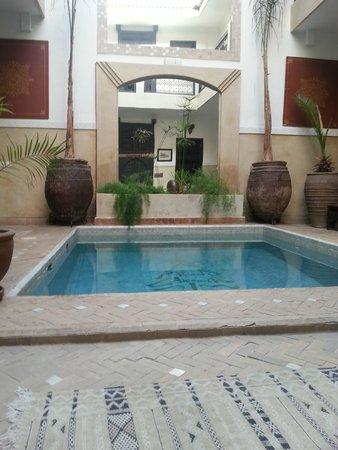 Riad Anjar: Il cortile interno