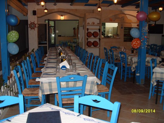 Nautilos Restaurant : Before the party