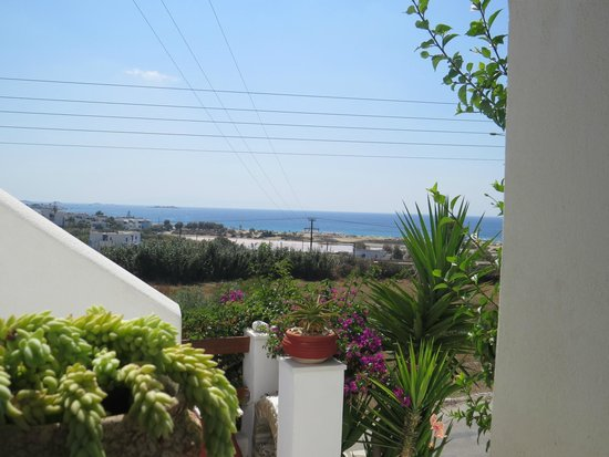 Dina Studios : Ausblick vom Balkon (Studio im Haupthaus)