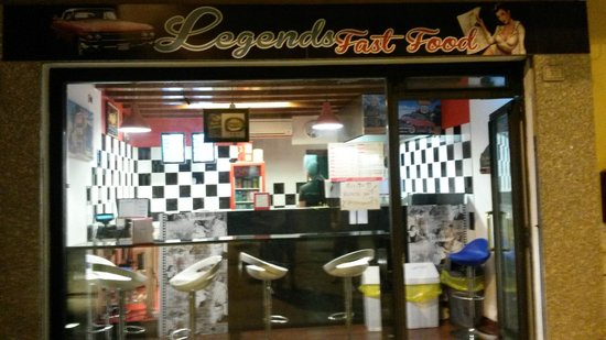 legends fast food