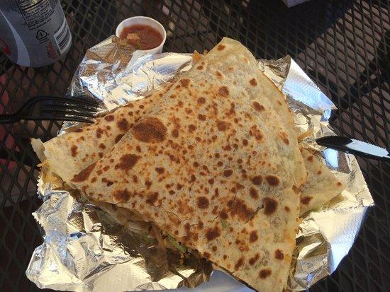 Brassas Mexican Grill: Al Pastor Quesadilla