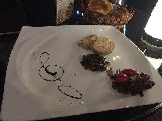 Bocca Kitchen + Bar: Foie gras goose liver made by chef