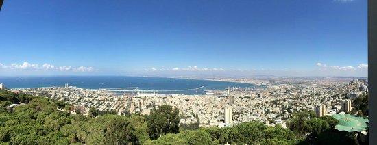 Dan Carmel Haifa: View from the balcony