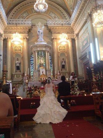 Basilica of Our Lady of Guanajuato: la boda