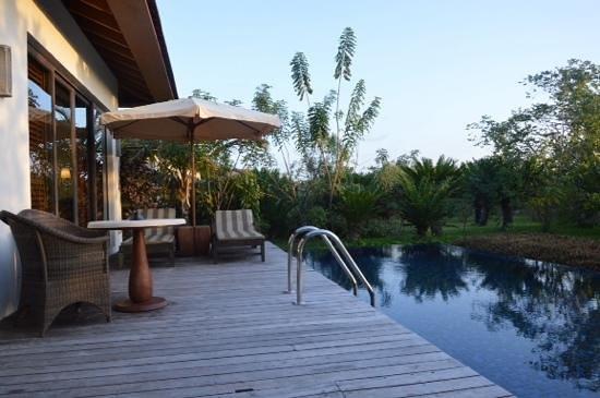 Kizimkazi, تنزانيا: Notre piscine