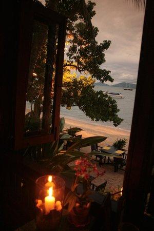 Krua Bophut : wonderful beach view