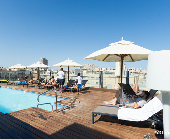 The Pool at the AC Hotel Alicante by Marriott