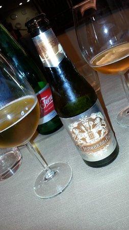 Leucio Ristorante Pizzeria: ottima !!!! birra