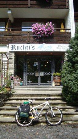 Ruchti's Hotel und Restaurant : Ponto de partida para a Via Claudia Augusta - Fuusen a Neneza