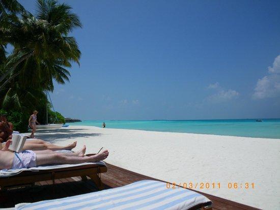 Medhufushi Island Resort: Beach