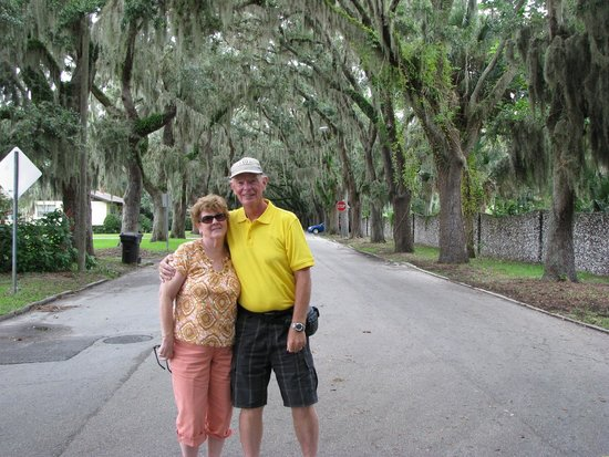 St. Augustine Gold Tours: special oak tunnel street