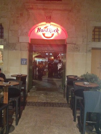 Hard Rock Cafe: Entrance