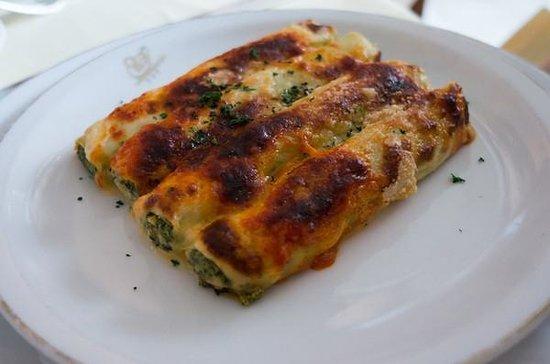 Harry Cipriani Restaurant: Spinach and Ricotta Cannelloni